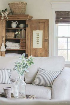 Living Room Slipcovers   A Comfort Works Review | Spaces I Love | Pinterest  | Farmhouse Living Rooms, Cozy And Living Rooms