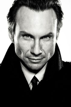 Christian Slater by Michael Muller