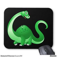 Animated Dinosaur Mouse Pad