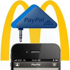 McDonalds tested payments via mobile with Paypal
