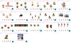 Digibordles Sinterklaas: tellen 1 t/m 5    http://leermiddel.digischool.nl/po/leermiddel/326f752495685dddefcedb8f3d45b9b7?s=1.10