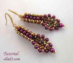 Hey, I found this really awesome Etsy listing at https://www.etsy.com/listing/193087386/tutorial-banita-earrings-beading