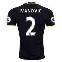 Chelsea Away 2016-17 Season Soccer Shirts #2 IVANOVIC Jersey