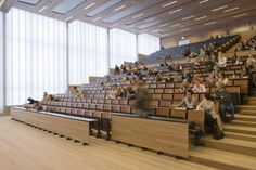 Zernike lecture and exam hall, Groningen - Onix   Architects, urban planners and designers
