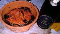 #cozze ripene, ricetta garganica, e #bollicine #daraprì #brut #metodoclassico #chilometrozero #enjoydarapri
