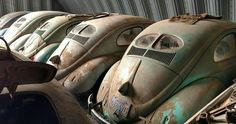 Over the weekend, a post began circulating on Facebook showing the hindquarters of a group of dusty split-window VW Beetles. Then, more pictures began to appear showing what appeared to be a Porsche Speedster, followed by... more»
