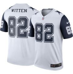Men s Color Rush 2016 Dallas Cowboys Jason Witten  82 Legend Game Jersey  Rush Games 8ad2f81a4