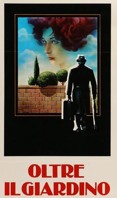 """Film: Being There (1979) Year poster printed: 1980 (first theatrical release in Italy) Country: Italy Size: 12.5"""" x 27.75"""" Artist: Renato Casaro This is a very rare, vintage Italian movie poster from"""