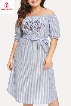 Off Shoulder Lace Up Plus Size Shift Dress – dresses shift,shift dress casual,shift dress summer, sleeveless shift dress,print shift dress Shift Dresses, Shift Dress Outfit, Summer Dress Outfits, Casual Dresses, Dress Summer, Dress Plus Size, Plus Size Outfits, Dress With Jean Jacket, Shift Dress Pattern
