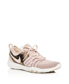 Rose Gold Nike Sneakers !! Yes Please !! Nike Women s Free TR 7 Bionic  Training Shoes c013dce9325c