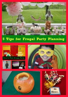 5 Tips for Frugal Party Planning