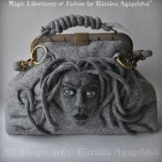 Gorgon purse