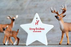 Merry Christmas Ya Filthy Animal Star Ornament