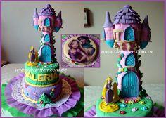 Torta y Gelatina de Rapunzel