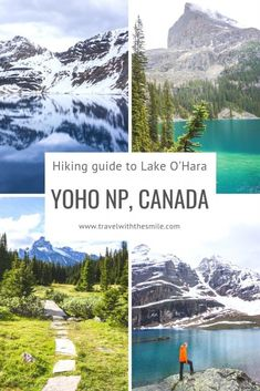 Hiking & Camping at Lake O'Hara: the complete guide to Yoho's paradise Hiking & Camping at Lake O'Hara, Yoho National Park, Canada Hiking Guide, Camping Guide, Hiking Trails, Hiking Gear, Canadian Travel, Canadian Rockies, Vancouver Island, Yoho National Park, National Parks