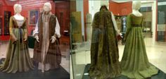 The wedding garments of Lajos IV and Mary of Hungary, c. 1526