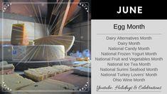 Holiday Dates, Frozen Yogurt, Iced Tea, Fruits And Vegetables, Celebrations, Seafood, Holidays, Youtube, Sea Food