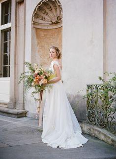 Elegant Wedding Inspiration At Swan House : Bajan Wed