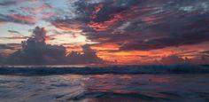 Sunset in Tulum mexico