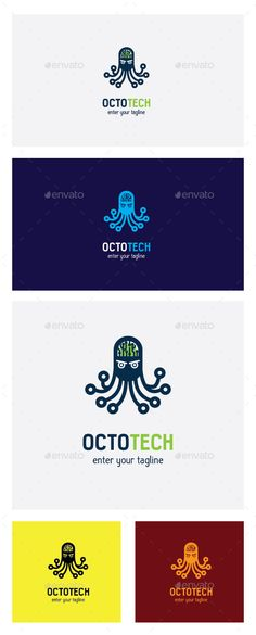 Octotech Logo Template #design #logotype Download: http://graphicriver.net/item/octotech-logo-template/12389450?ref=ksioks