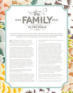 The Family A Proclamation to the World Art by CollectivityLane on Etsy