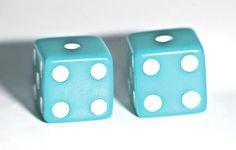 Dice & paper/pencils at tables for games or to pick up when you walk in -- also doubles as a gift