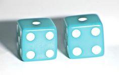Color Azul Turquesa - Turquoise!!!  Dice