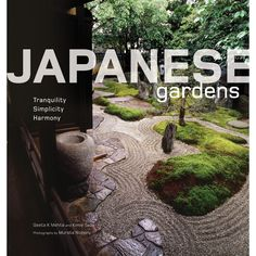 Featuring beautiful photographs and insightful commentary this Japanese gardening book is a must have for any gardening or zen enthusiast.   At the heart of a Japanese garden is harmony with nature. More than simply a landscape of trees and flowering shrubs, a Japanese garden provides a place of serenity and rest, filled with peaceful spots that lend themselves to meditation and contemplation.