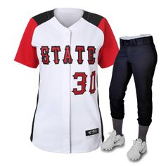 Rush Delivery - Top Quality - Custom Softball Uniforms & Softball Jerseys - Huge Selection - Shop Now! Softball Uniforms, Softball Jerseys, Baseball Teams, All Star, Football, Athletic, Sports, T Shirt, Clothes