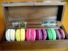 Macaroons at Manchester House