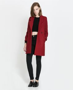 ZARA - TRF - DOUBLE BREASTED COAT