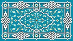Арабский растительный орнамент - Стоковая иллюстрация: 28677657