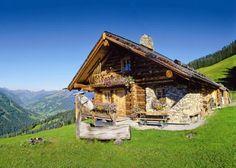Alpenhütte.