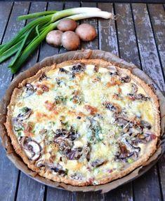 Quiche mit Pilzen - Champignon Tarte