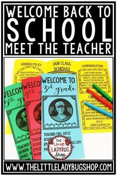 Meet the Teacher: Creating a Warm and Inviting Open House for elementary classrooms. 3rd grade, 2nd grade, 4th grade. #meettheteacher #backtoschoolopenhouse