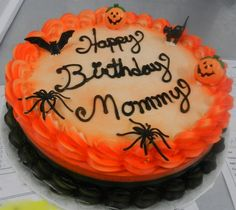 When kids order cakes for their mothers!