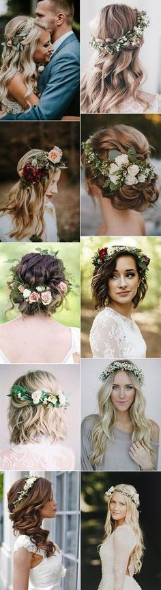 32 Best Brautfrisuren Vintage Images Hair Makeup Wedding Hair