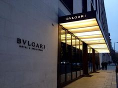 Halcyon – a hotel in Cherry Creek in Denver Office Entrance, Entrance Design, Facade Design, Bvlgari Hotel, Facade Lighting, Luxury Store, Canopy Design, Marquise, Shop Fronts
