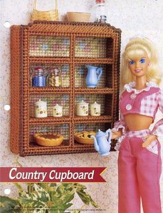 Country Cupboard New F Doll Plastic Canvas Pattern - 30 Days To Shop & Pay! picclick.com