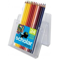 Colored pencils 24 set  brand new with case by PaintBrushLady, $11.98