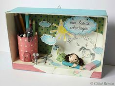 """Mes Beaux Coloriages"" - Photo de BOITES ET CADRES DISPONIBLES * Available boxes and frames - Tibout de blog"