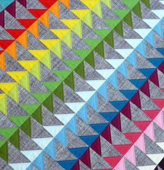by red pepper quilts...I like the use of gray for the negative space