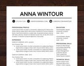 Job hunting Resume Template - CV Template for Word, Mac or PC, Professional Resume Design, Free Cover Letter, Creative, Modern, Teacher