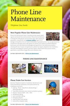 Popular Phone Line Maintenance