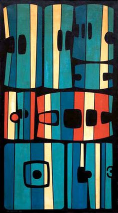 Painting by Maria Freire (b. 1917), Uruguay.