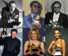 GRAMMYs Biggest Winners By Decade