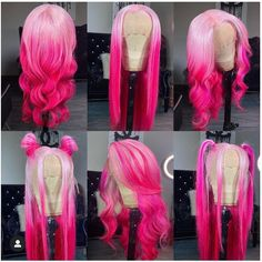 Baddie Hairstyles, Weave Hairstyles, Lace Front Wigs, Lace Wigs, Pretty Hair Color, Hair Creations, Aesthetic Hair, Wigs For Black Women, Love Hair