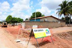 Prefeitura de Boa Vista promove obras de drenagem na rua Moacir da Silva Mota #pmbv #prefeituraboavista #boavista #roraima #obras