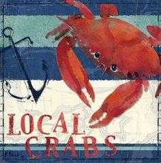"""Deep Sea Crab"" by Paul Brent via @greatbigcanvas available at GreatBIGCanvas.com."