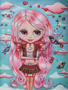 Blythe Kiss Fairy by Blonde Blythe